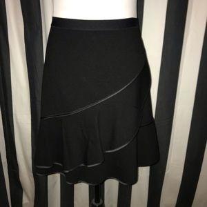 Draper James NWT Black Tulip A-Line Skirt L/12